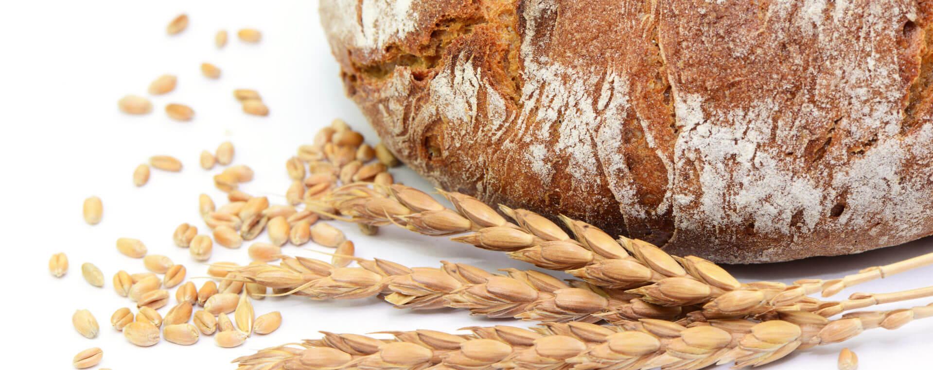 Brotlaib und Körner